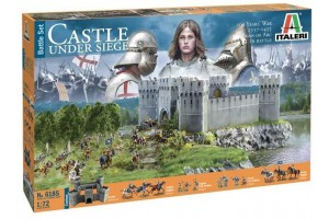 100 YEARS' WAR Castle under siege (1:72) - 6185