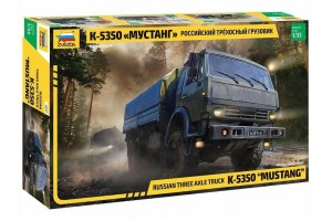 "Russian three axle truck K-5350 ""MUSTANG"" (1:35) - 3697"