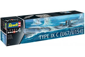 German Submarine Type IXC U67/U154 (1:72) - 05166