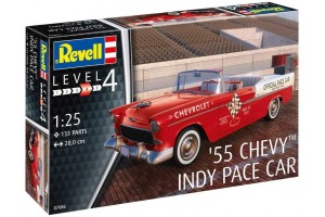 55 Chevy Indy Pace Car (1:25) - 67686