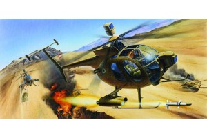 HUGHES 500D TOW HELICOPTER (1:48) - 12250