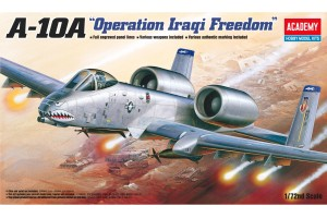 "A-10A ""OPERATION IRAQI FREEDOM"" (1:72) - 12402"