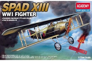 SPAD XIII WWI FIGHTER (1:72) - 12446