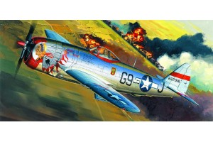 "P-47D ""BUBBLE-TOP"" (1:72) - 12491"
