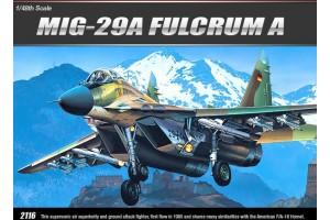 MiG-29A FULCRUM A (1:48) - 12263