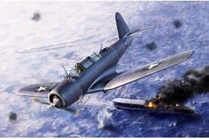 "SB2U-3 ""Battle of Midway"" (1:48) - 12324"