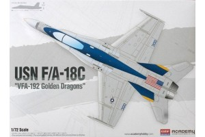 "USN F/A-18C ""VFA-192 Golden Dragons"" (1:72) - 12564"