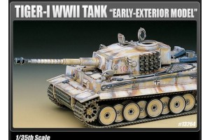 "TIGER-I WWII TANK ""EARLY-EXTERIOR MODEL"" (1:35) - 13264"