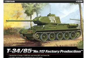 "T-34/85 ""112 FACTORY PRODUCTION"" (1:35) - 13290"