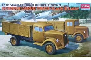 GERMAN CARGO TRUCK E/L (1:72) - 13404