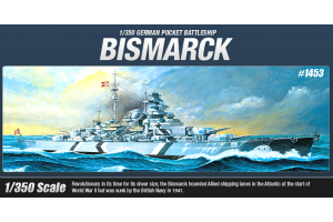 GERMAN BATTLESHIP BISMARCK (1:350) - 14109