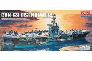 USS CVN-69 EISENHOWER (1:800) - 14212