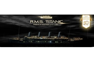 R.M.S TITANIC PREMIUM EDITION WITH LED (1:400) - 14226