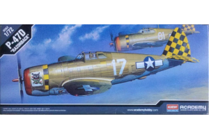 """P-47D """"RAZOR-BACK"""" (1:72) - 12492"""