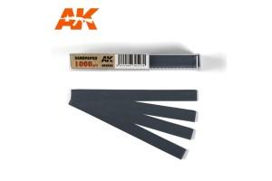 Brusný papír 1000 - mokré použití (Dry Sandpaper 1000) 50ks - AK9026