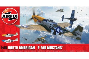 North American P-51D Mustang (Filletless Tails) (1:48) - A05138