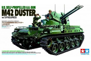 M42 Duster w/3 Figures (1:35) - 35161