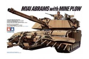 M1 A1 Abrams w/Mine Plow (1:35) - 35158