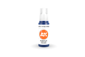 214: Clear Blue (17ml) - acryl