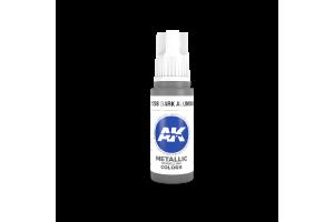 208: Dark Aluminium (17ml) - acryl