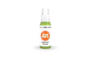 129: Fluorescent Green (17ml) - acryl