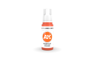 081: Fluorescent Orange (17ml) - acryl