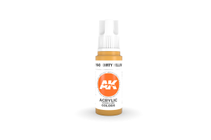 043: Dirty Yellow (17ml) - acryl