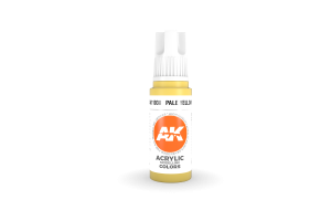 038: Pale Yellow (17ml) - acryl