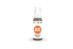 017: Reddish Grey (17ml) - acryl