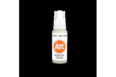 006: Silver Grey (17ml) - acryl