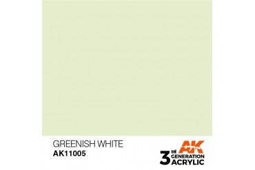005: Greenish White (17ml) - acryl