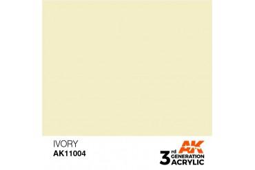 004: Ivory (17ml) - acryl