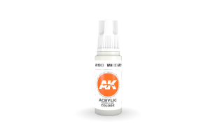 003: White Grey (17ml) - acryl