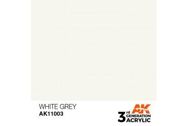 003: White Grey (17ml) - acryl