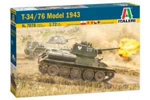 T-34/76 Model 1943 (1:72) - 7078