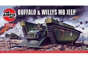Buffalo Willys MB Jeep  (1:76) - A02302V