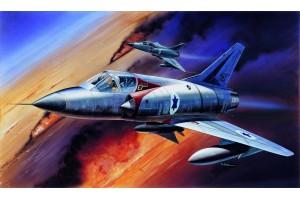 Model Kit letadlo 12247 - MIRAGE III-C FIGHTER (1:48)