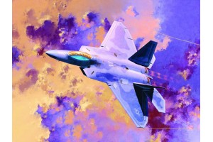 F-22A AIR DOMINANCE FIGHTER (1:72) - 12423