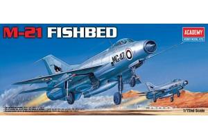 M-21 FISHBED (1:72) - 12442