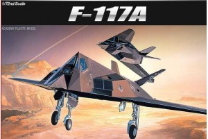 F-117A STEALTH FIGHTER/BOMBER (1:72) - 12475