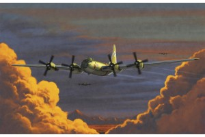 """Model Kit letadlo 12517 - USAAF B-29A """"OLD BATTLER"""" (1:72)"""