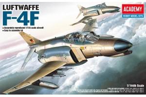 Model Kit letadlo 12611 - F-4F (1:144)