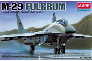 Model Kit letadlo 12615 - M-29 FULCRUM (1:144)