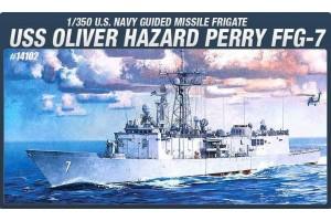 USS OLIVIER HAZARD PERRY FFG-7 (1:350) - 14102