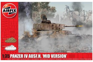 Panzer IV Ausf.H, Mid Version (1:35) - A1351