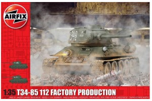 T34/85 112 Factory Production (1:35) - A1361
