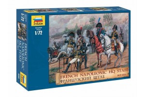 FRENCH NAPOLEONIC HQ STAFF (1:72) - 8080