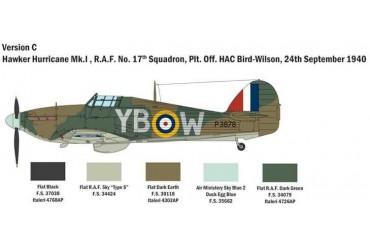 Model Kit letadlo 2802 - Hurricane MK. I (1:48)