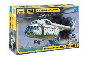 MIL Mi-8 Rescue Helicopter (1:72) - 7254