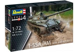 T-55A/AM with KMT-6/EMT-5 (1:72) - 03328